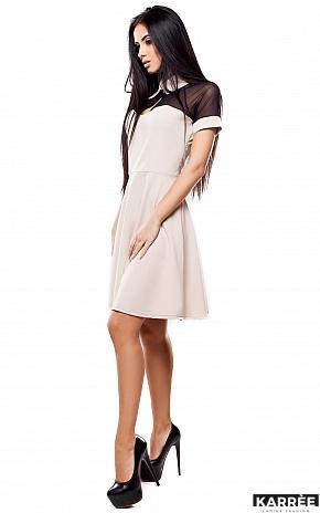 Платье Анкона, Бежевый - фото 3