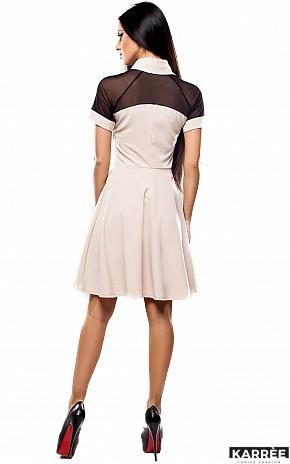 Платье Анкона, Бежевый - фото 4