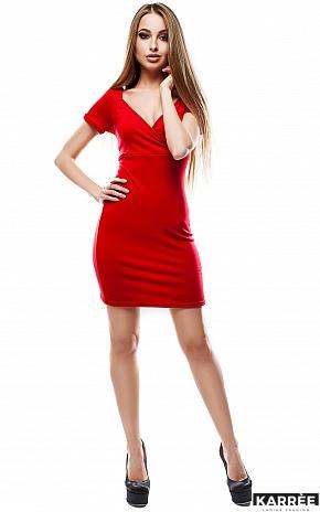 Платье Минди, Красный - фото 1