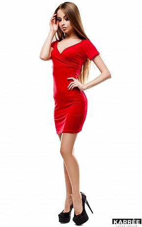 Платье Минди, Красный - фото 3