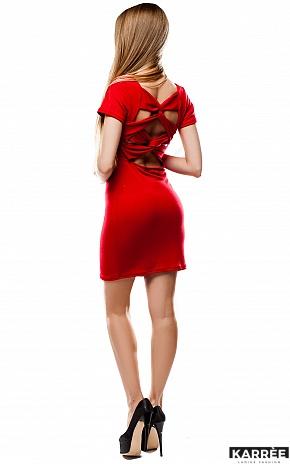 Платье Минди, Красный - фото 4