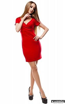Платье Минди, Красный