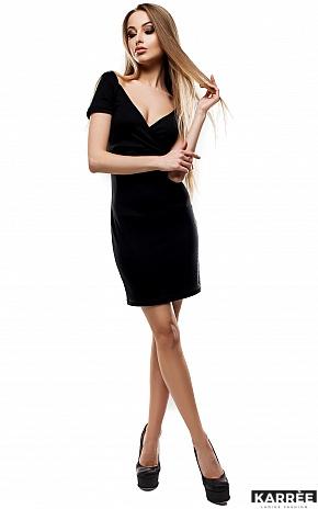 Платье Минди, Черный - фото 1