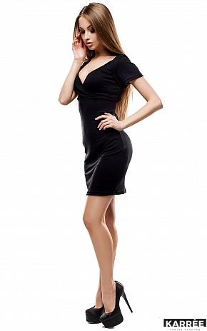 Платье Минди, Черный - фото 2