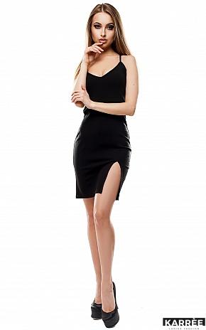Платье Кипр, Черный - фото 2