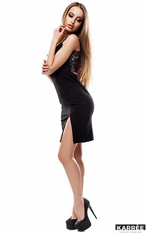 Платье Кипр, Черный - фото 3