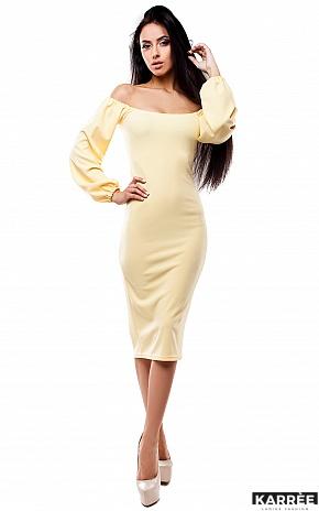 Платье Кейси, Желтый - фото 1