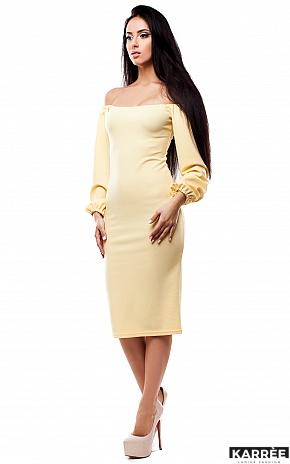 Платье Кейси, Желтый - фото 2