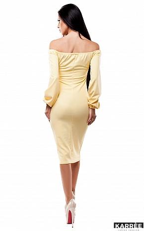 Платье Кейси, Желтый - фото 3
