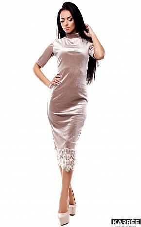 Платье Джулс, Бежевый - фото 1