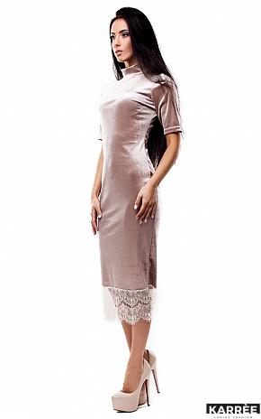 Платье Джулс, Бежевый - фото 2