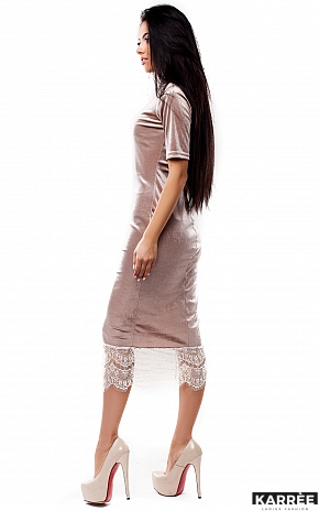 Платье Джулс, Бежевый - фото 3