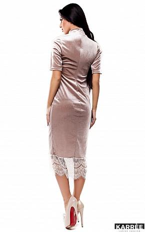 Платье Джулс, Бежевый - фото 4