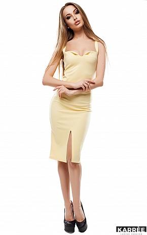 Платье Силина, Желтый - фото 1