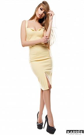 Платье Силина, Желтый - фото 2