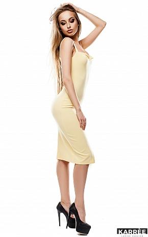 Платье Силина, Желтый - фото 3