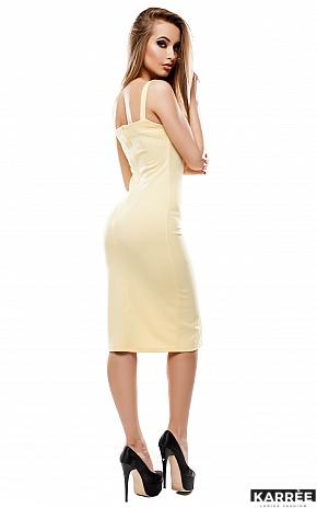 Платье Силина, Желтый - фото 4