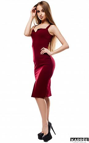 Платье Силина, Марсала - фото 2