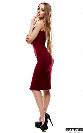 Платье Силина, Марсала - фото 3