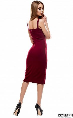 Платье Силина, Марсала - фото 4