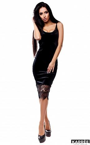 Платье Альба, Черный - фото 1