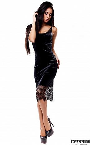 Платье Альба, Черный - фото 2