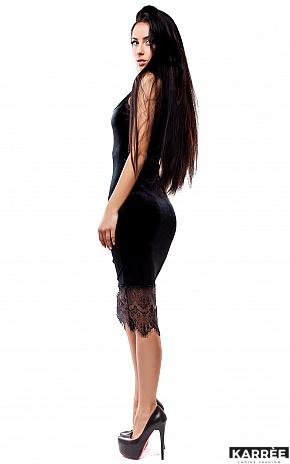 Платье Альба, Черный - фото 4