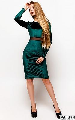 Платье Люксор, Темно-зеленый