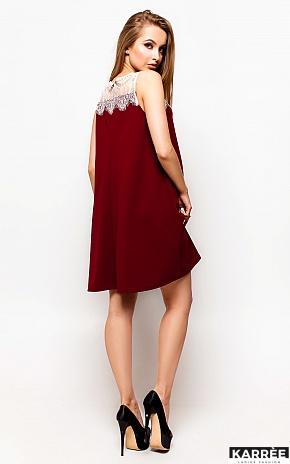 Платье Дженоя, Марсала - фото 3
