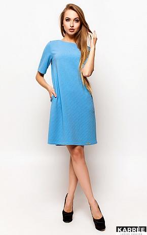 Платье Скалли, Голубой - фото 1