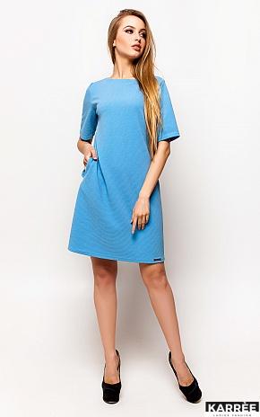 Платье Скалли, Голубой - фото 2