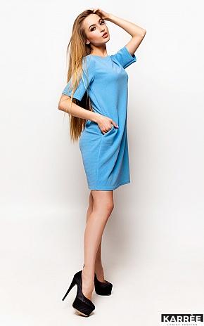 Платье Скалли, Голубой - фото 3