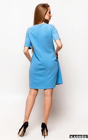 Платье Скалли, Голубой - фото 4