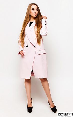 Пальто Вонг, Розовый - фото 1