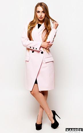Пальто Вонг, Розовый - фото 2
