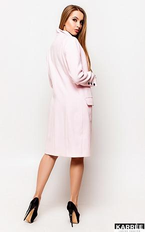 Пальто Вонг, Розовый - фото 3
