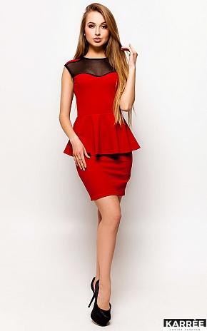Платье Джоанна, Красный - фото 1