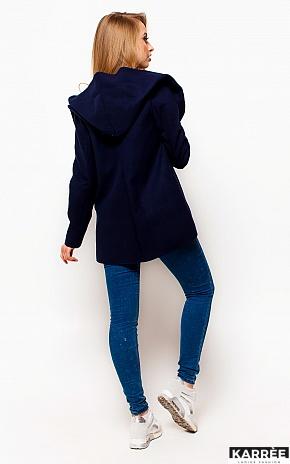Пальто Джереми, Темно-синий - фото 4