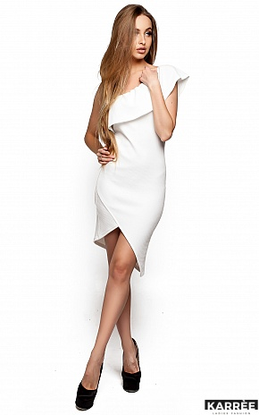Платье Кейт, Молоко - фото 1