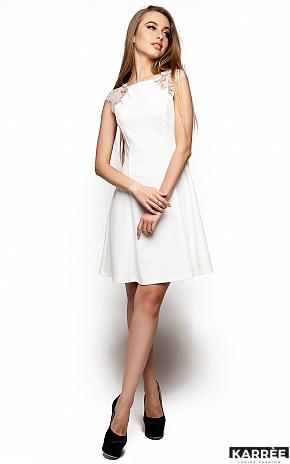 Платье Скотти, Молоко - фото 2