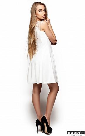 Платье Скотти, Молоко - фото 3