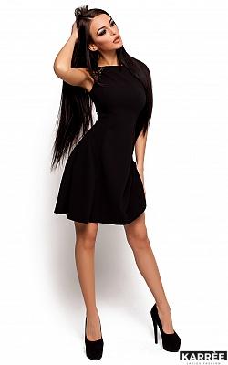 Платье Скотти, Черный