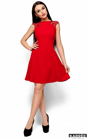 Платье Скотти, Красный - фото 1