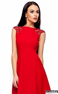 Платье Скотти, Красный