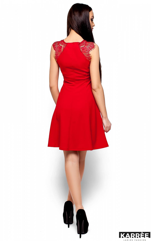 Платье Скотти, Красный - фото 3