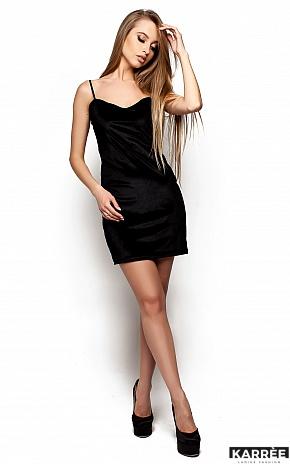 Платье Чейз, Черный - фото 1
