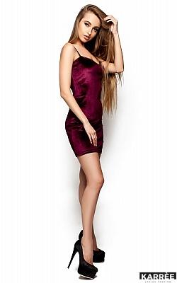 Платье Чейз, Марсала