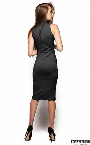 Платье Вероника, Темно-серый - фото 3