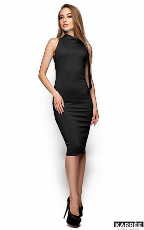 Платье Вероника, Темно-серый - фото 2