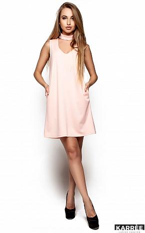 Платье Сапфир, Персик - фото 1